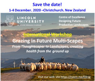 1st International Workshop: Grazing in Future Multi-Scapes